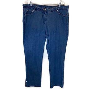 Cathy Daniels women's jeans 18  high rise